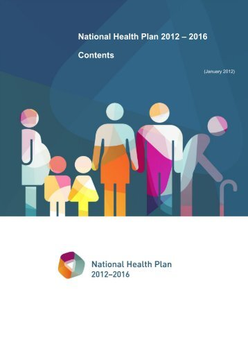 National Health Plan 2012 – 2016 Contents
