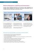 Leadership Module des Executive MBA – Überblick - communicate! - Seite 6