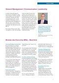 Leadership Module des Executive MBA – Überblick - communicate! - Seite 7