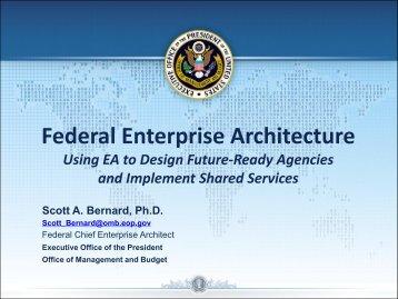 Federal Enterprise Architecture - Digital Government Institute