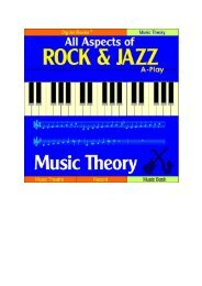 Basic Music Theory, General Introduction - NORDISC Music & Text