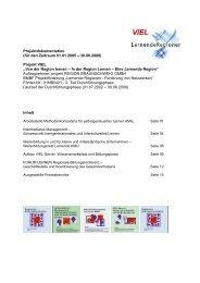 Projektdokumentation (für den Zeitraum 01.01.2005 ... - EUROlocal