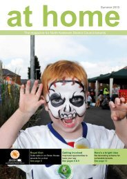 The magazine for North Kesteven District Council tenants