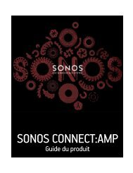 SONOS CONNECT:AMP - Labat