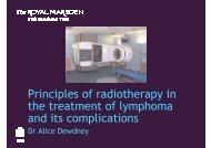 Download presentation (PDF) - Royal Marsden Hospital
