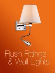 Flush Fittings & Wall Lights - Firstlight products