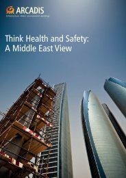 Arcadis report April 2015 Think health and safety - a Middle East view_0