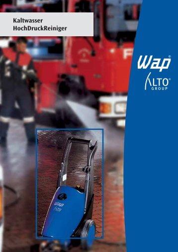 10541-W/Cold Water 5810103 - WAP-ALTO KEW Reinigungssysteme