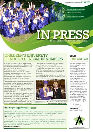 Issue 17 - Corby Business Academy