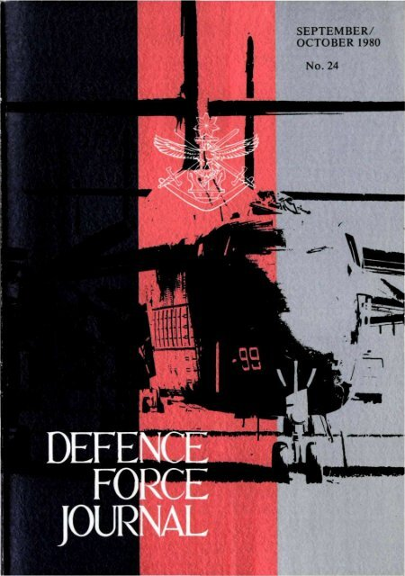 ISSUE 24 : Sep/Oct - 1980 - Australian Defence Force Journal