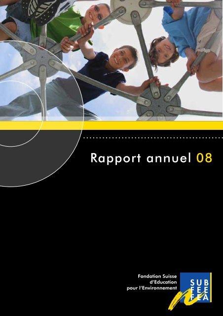 2008 - Education à l'environnement en Suisse