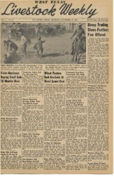 November 10, 1949 - Livestock Weekly!