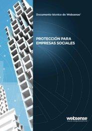 PROTECCIÓN PARA EMPRESAS SOCIALES - Websense