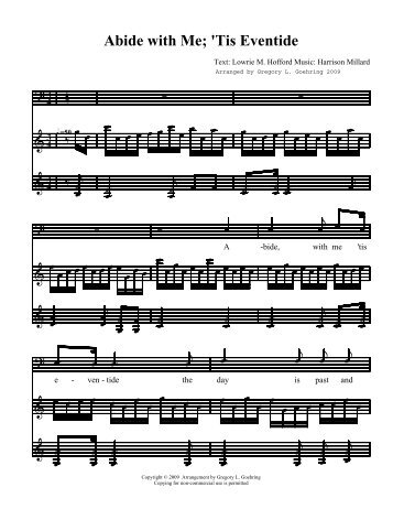 Sheet Music - Icentricity.net