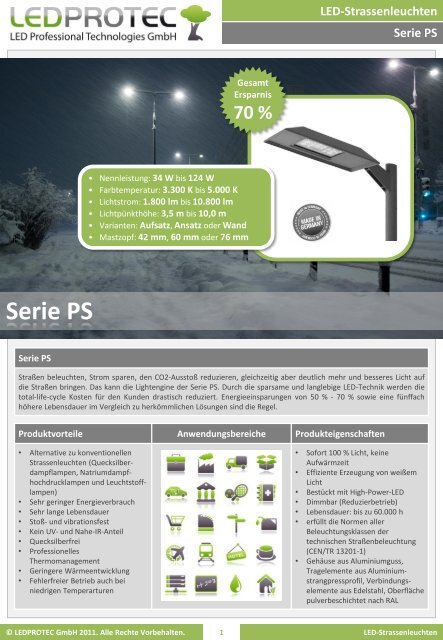 Serie PS - LEDPROTEC GmbH
