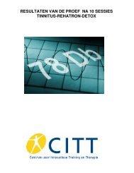 Eerste Resultaten Tinnitus-Rehatron-Detox Proef Def - CITT
