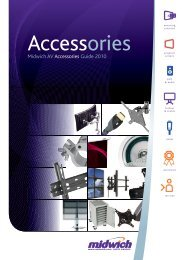 Midwich AV Accessories Guide 2010