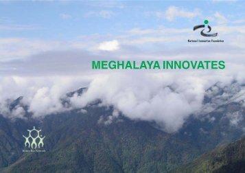 meghalaya innovates - National Innovation Foundation