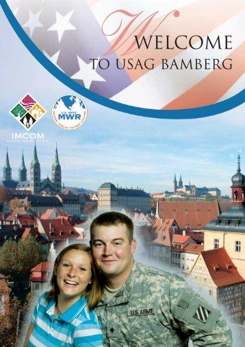 WWELCOME - USAG Bamberg - U.S. Army