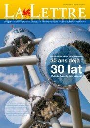 Wallonie-Bruxelles International (WBI) : 30 ans dÉjÀ