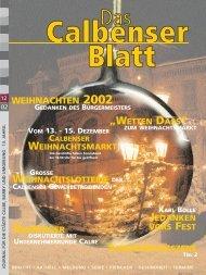 WEIHNACHTEN 2002