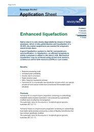 Liquefaction Enzymes - Mountain Moonshine