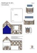 Bastelbogen 601j Schneiderhaus - Projekt Bastelbogen - Seite 2
