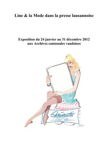 Biographie de Jacqueline Jonas - Patrimoine Vaudois