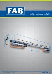 Katalog Dveřní a podlahové zavírače - FAB