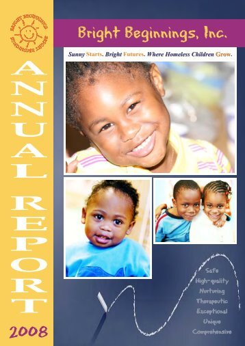 Fiscal Year 2008 Annual Report - Bright Beginnings