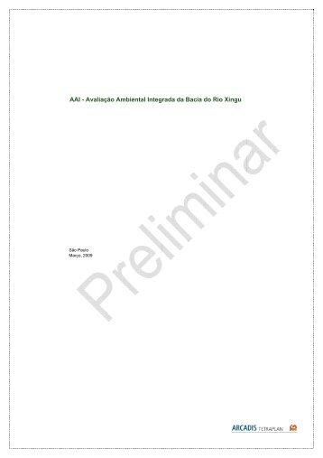 AAI - Avaliação Ambiental Integrada da Bacia do ... - eletrobras.com.br