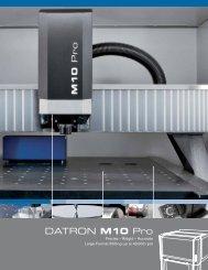 DATRON M10 Pro - Datron Dynamics Inc.