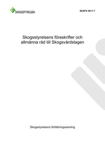 2011:7 - Skogsstyrelsen