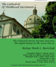 Commemorative Edition Part 1 - Diocese of Altoona-Johnstown