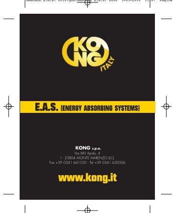 MANUALE E.A.S. 2010.qxd:MANUALE E.A.S. 2006 - Kong
