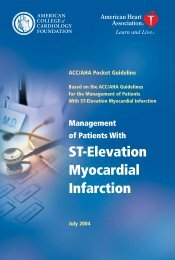ST Elevation Myocardial Infarction