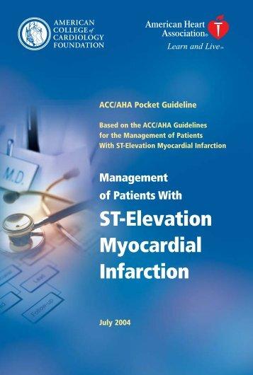 ST Elevation Myocardial Infarction