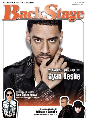Ryan Leslie - BackStage