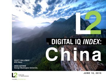 China - L2: A Think Tank for Digital Innovation