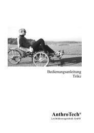 Handbuch Trike, aktuelles Modell (Pdf) - AnthroTech