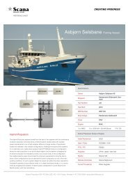 Fishing references - Scana Industrier ASA