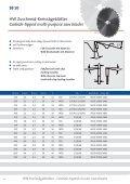 Carbide-tipped circular saw blades - PREWI Schneidwerkzeuge ... - Seite 4