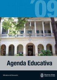 Agenda Educativa 2009 - Centro Cultural San Martín