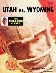 UTAH vs THE COLLEGE GAME