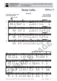 Hamba kahle - helbling choral music