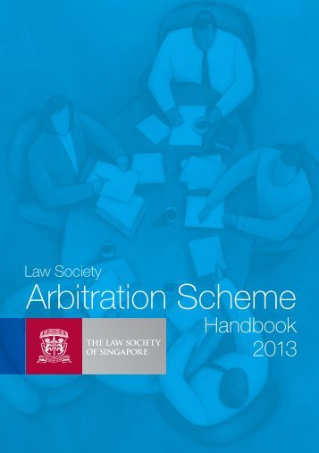 Arbitration Scheme - Law Society of Singapore