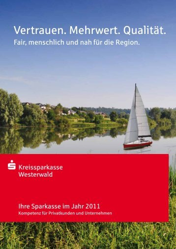 Ihre Sparkasse in 2011 - Kreissparkasse Westerwald