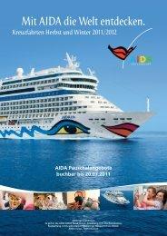 Mit AIDA die Welt entdecken. - AIDA Cruises