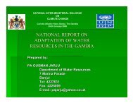 national report on adaptation of water resources in ... - UNDPCC.org