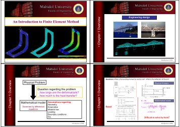 An Introduction to Finite Element Method